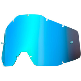 100% Replacement Lenses, blue / mirror